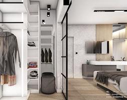KRAKÓW - Garderoba, styl nowoczesny - zdjęcie od INVENTIVE studio - Homebook