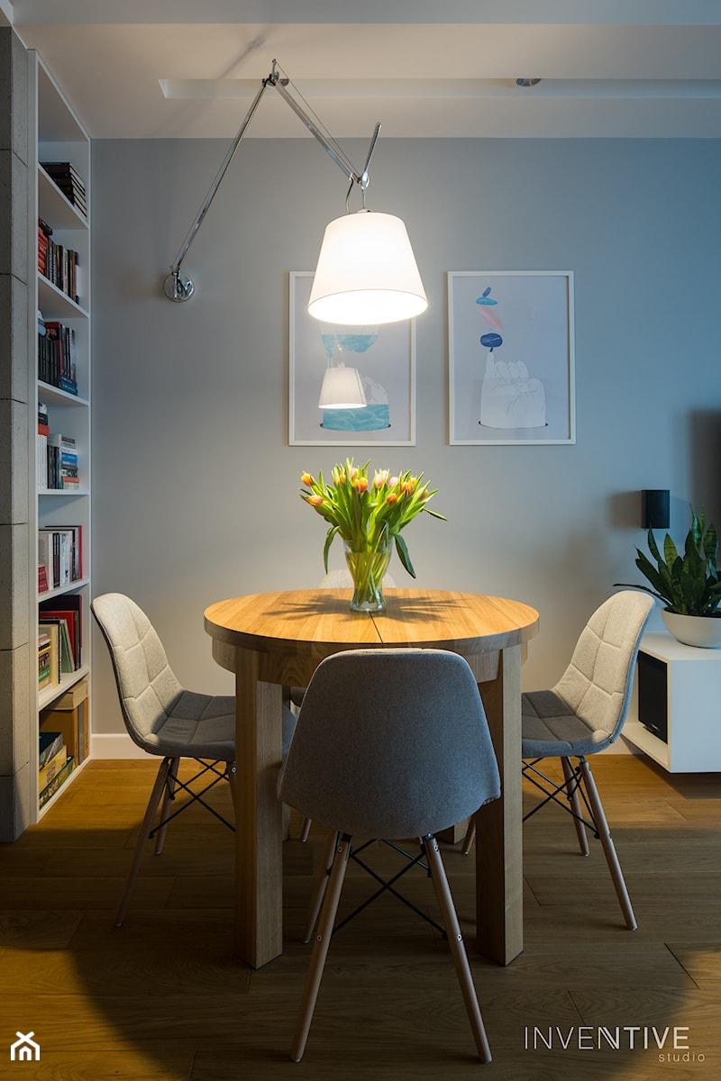 WILANÓW - realizacja - Jadalnia, styl minimalistyczny - zdjęcie od INVENTIVE studio