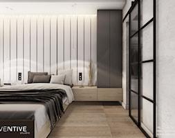 KRAKÓW - Sypialnia, styl nowoczesny - zdjęcie od INVENTIVE studio - Homebook