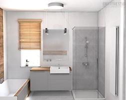 Łazienka na piętrze - zdjęcie od Creartive Studio - Homebook