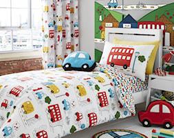 pościel dla chłopca Transport - zdjęcie od www.dotsplanet.pl
