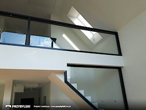 Balustrada aluminiowo-szklana - zdjęcie od Przybylski Ogrody Zimowe & Konstrukcje aluminiowo-szklane