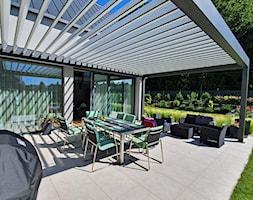 Pergola SunBreaker z aluminiowymi lamelami - zdjęcie od Przybylski Ogrody Zimowe & Konstrukcje aluminiowo-szklane - Homebook