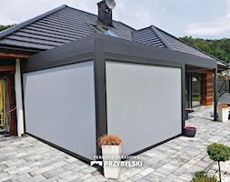 Pergola z refleksolami - zdjęcie od Przybylski Ogrody Zimowe & Konstrukcje aluminiowo-szklane - Homebook
