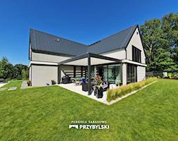 Aluminiowa pergola tarasowa - zdjęcie od Przybylski Ogrody Zimowe & Konstrukcje aluminiowo-szklane - Homebook