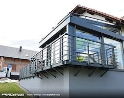 Zabudowa tarasu - zdjęcie od Przybylski Ogrody Zimowe & Konstrukcje aluminiowo-szklane