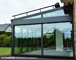 Zadaszenie tarasu ogród zimowy - zdjęcie od Przybylski Ogrody Zimowe & Konstrukcje aluminiowo-szklane