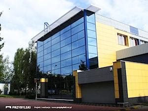 Fasada aluminiowo-szklana, elewacje szklane