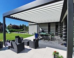 Pergole tarasowe PRZYBYLSKI - zdjęcie od Przybylski Ogrody Zimowe & Konstrukcje aluminiowo-szklane - Homebook