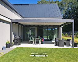 Pergola aluminiowa SunBreaker - zdjęcie od Przybylski Ogrody Zimowe & Konstrukcje aluminiowo-szklane - Homebook