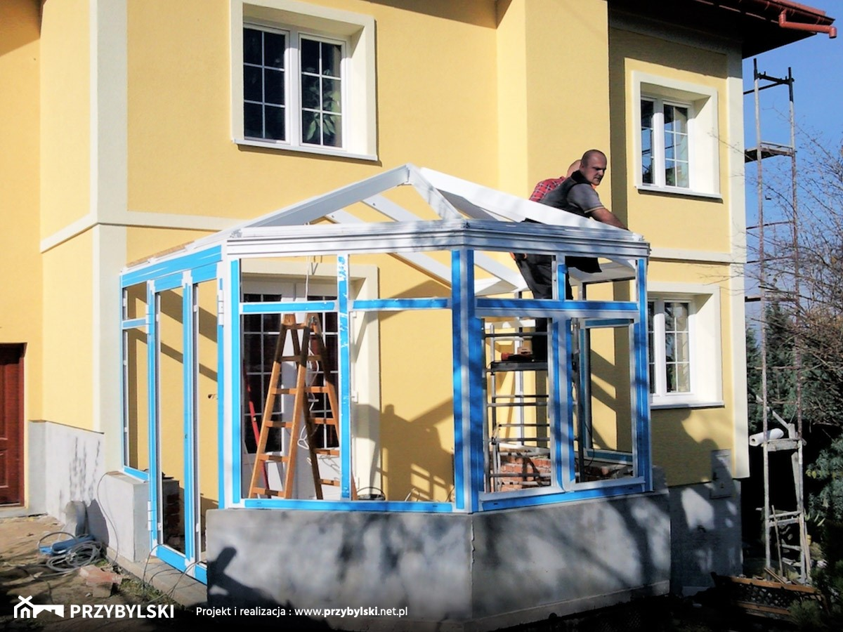 Wiktoriański ogród zimowy - zdjęcie od Przybylski Ogrody Zimowe & Konstrukcje aluminiowo-szklane - Homebook