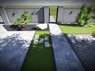 OGRODY AGNIESZKI - Ogród w nowoczesnym stylu