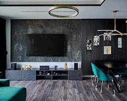 Realizacja GreenTiger - Jadalnia, styl nowoczesny - zdjęcie od KODY Wnętrza | projektowanie wnętrz i doradztwo - Homebook
