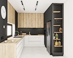 Kuchnia Dąb Halifax Naturalny Egger - Kuchnia, styl nowoczesny - zdjęcie od Vimko Projektowanie Wnętrz - Homebook