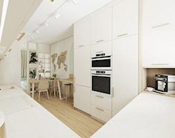 Fluoryt - Projekt domu - Kuchnia, styl skandynawski - zdjęcie od Vimko Projektowanie Wnętrz - Homebook