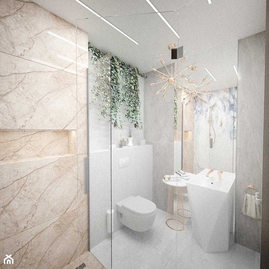 łazienka Glamour Z Umywalką Wolnostojącą Zdjęcie Od Vimko