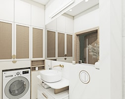 Fluoryt - Projekt domu - Łazienka, styl klasyczny - zdjęcie od Vimko Projektowanie Wnętrz - Homebook