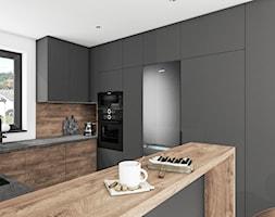 Kuchnia rustykalne drewno - Kuchnia, styl rustykalny - zdjęcie od Vimko Projektowanie Wnętrz - Homebook