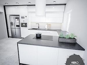 Czarno biała kuchnia
