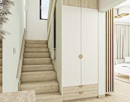 Fluoryt - Projekt domu - Hol / przedpokój, styl skandynawski - zdjęcie od Vimko Projektowanie Wnętrz - Homebook