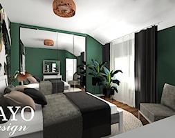 Sypialnia W Zieleni Zdjęcie Od Bayo Design Homebook