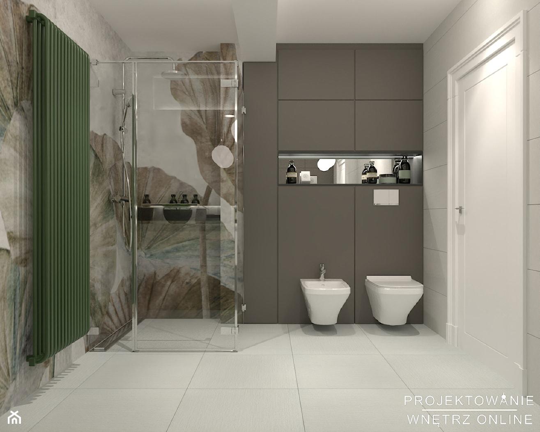 Aranżacja łazienki w stylu nowoczesnym - zdjęcie od Projektowanie Wnetrz Online - Homebook