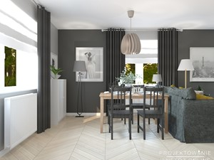 Skandynawski salon IKEA