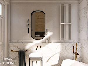 Łazienka z umywalką  wolnostojącą