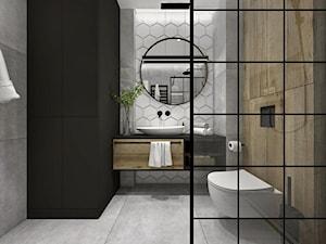 Łazienka z akcentem drewna
