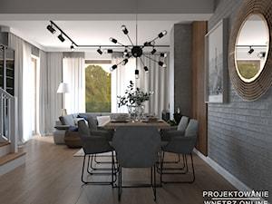 Nowoczesny design w salonie
