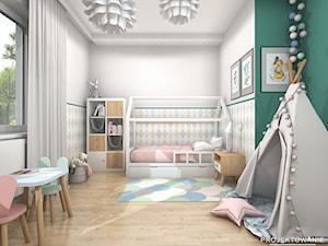 Projekt pokoju dziewczynki w słodkich pastelach