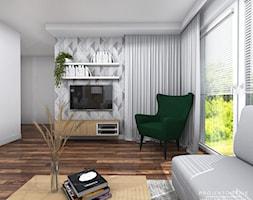 Projekt+salonu+z+aneksem+kuchennym+-+zdj%C4%99cie+od+Projektowanie+Wnetrz+Online