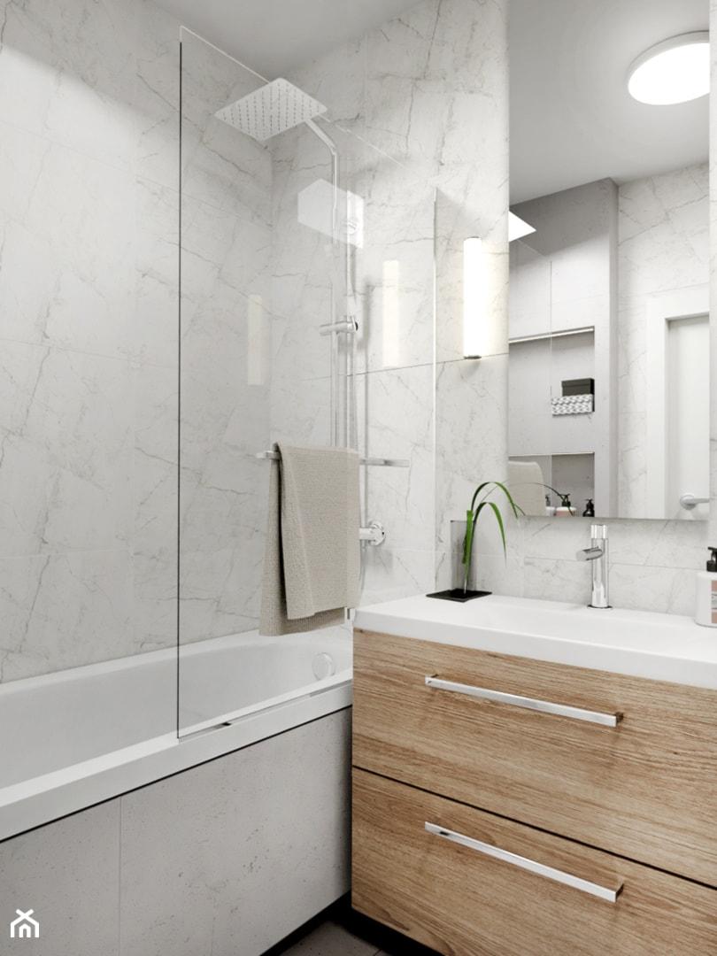 łazienka W Bieli Mała łazienka W Bloku W Domu