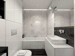 Łazienka z luksusowymi płytkami