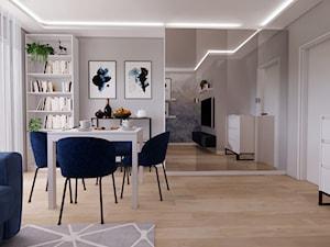 Skandynawski salon projekt