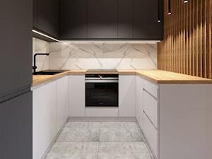 Projekt kuchni mieszkanie 60 m2