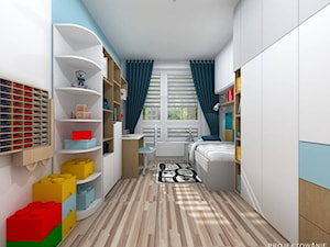 Pokój dziecięcy dla chłopca Lego
