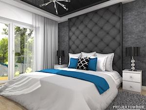Projekt sypialni glamour
