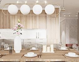 Be%C5%BCowo-drewnianaa+kuchnia+modern+classic+z+marmurem+-+zdj%C4%99cie+od+Wydzia%C5%82+Spraw+Wewn%C4%99trznych