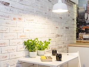 MIESZKANIE 52m2 - Kuchnia, styl eklektyczny - zdjęcie od KRAMKOWSKA | PRACOWNIA WNĘTRZ