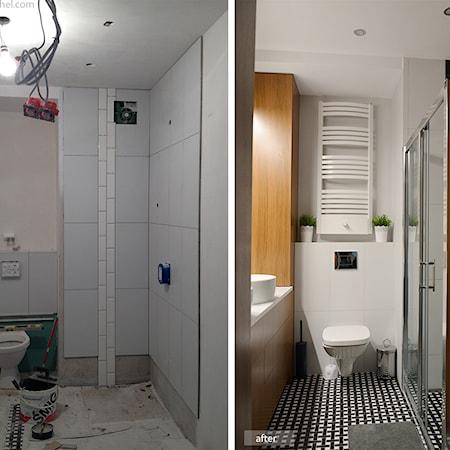 łazienka Długa I Wąska Aranżacje Pomysły Inspiracje Z