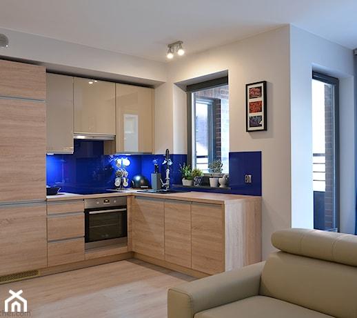 Mieszkanie w Browarze Gdańskim  zdjęcie od Helena Michel Design -> Kuchnia Angielska Gdansk