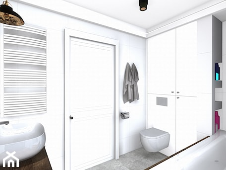 Aranżacje wnętrz - Łazienka: łazienka - Łazienka, styl nowoczesny - SPATIUM Hanna Blicharska. Przeglądaj, dodawaj i zapisuj najlepsze zdjęcia, pomysły i inspiracje designerskie. W bazie mamy już prawie milion fotografii!