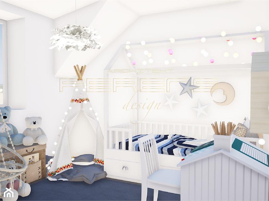 Aranżacje wnętrz - Pokój dziecka: DOM KOLUSZKI - Ferens design architektura. Przeglądaj, dodawaj i zapisuj najlepsze zdjęcia, pomysły i inspiracje designerskie. W bazie mamy już prawie milion fotografii!