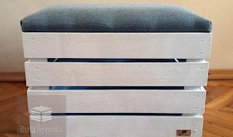 bialaskrzynka.pl pufy kuferki skrzynki drewniane białe - Producent