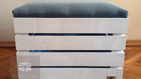 bialaskrzynka.pl pufy kuferki skrzynki drewniane białe