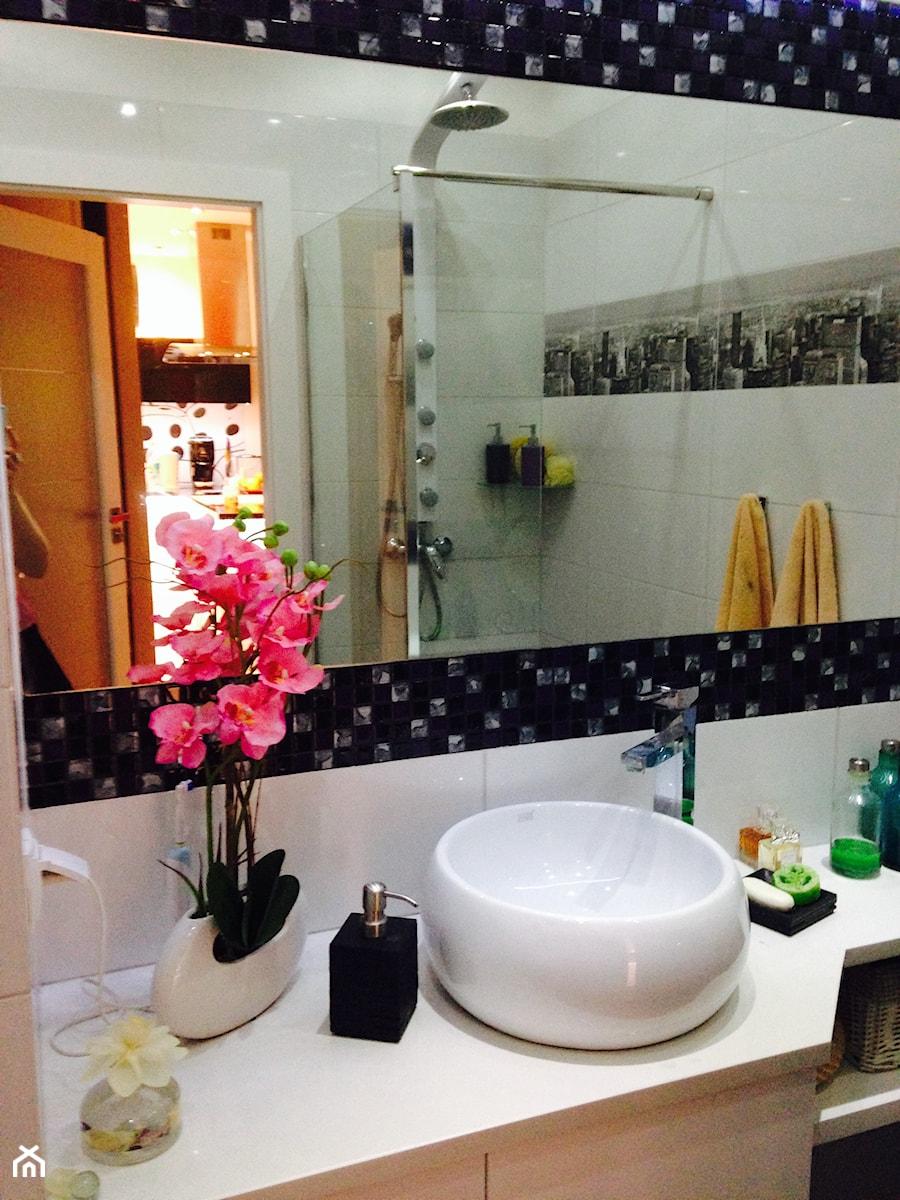 pomysł na małą łazienkę - zdjęcie od Marlena Markowska - homebook