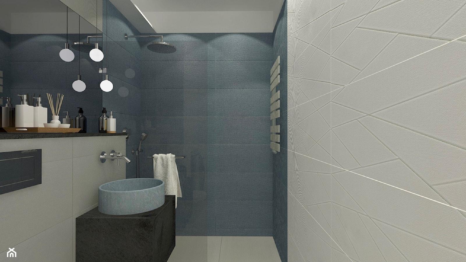 łazienka 6m2, dom pod Olsztynem - zdjęcie od Pracownia wnętrzarska Ag. Frankowska-Iwaniuk - Homebook
