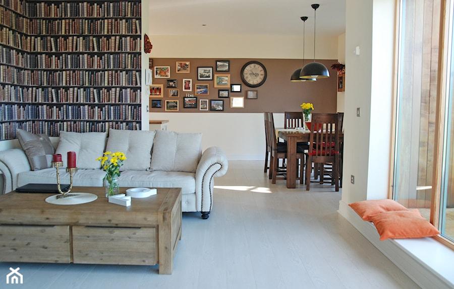 Apartament Dublin - Mały salon z jadalnią - zdjęcie od GAGO Design