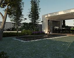 Taras główny przy ogrodzie - zdjęcie od EKLEKT ATELIER